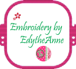 Embroidery by EdytheAnne blog logo.