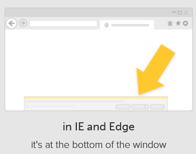 downloads in IE and Edge