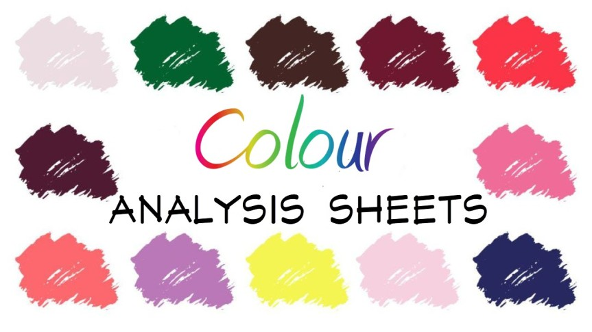 USING…. COLOR ANALYSIS SHEETS