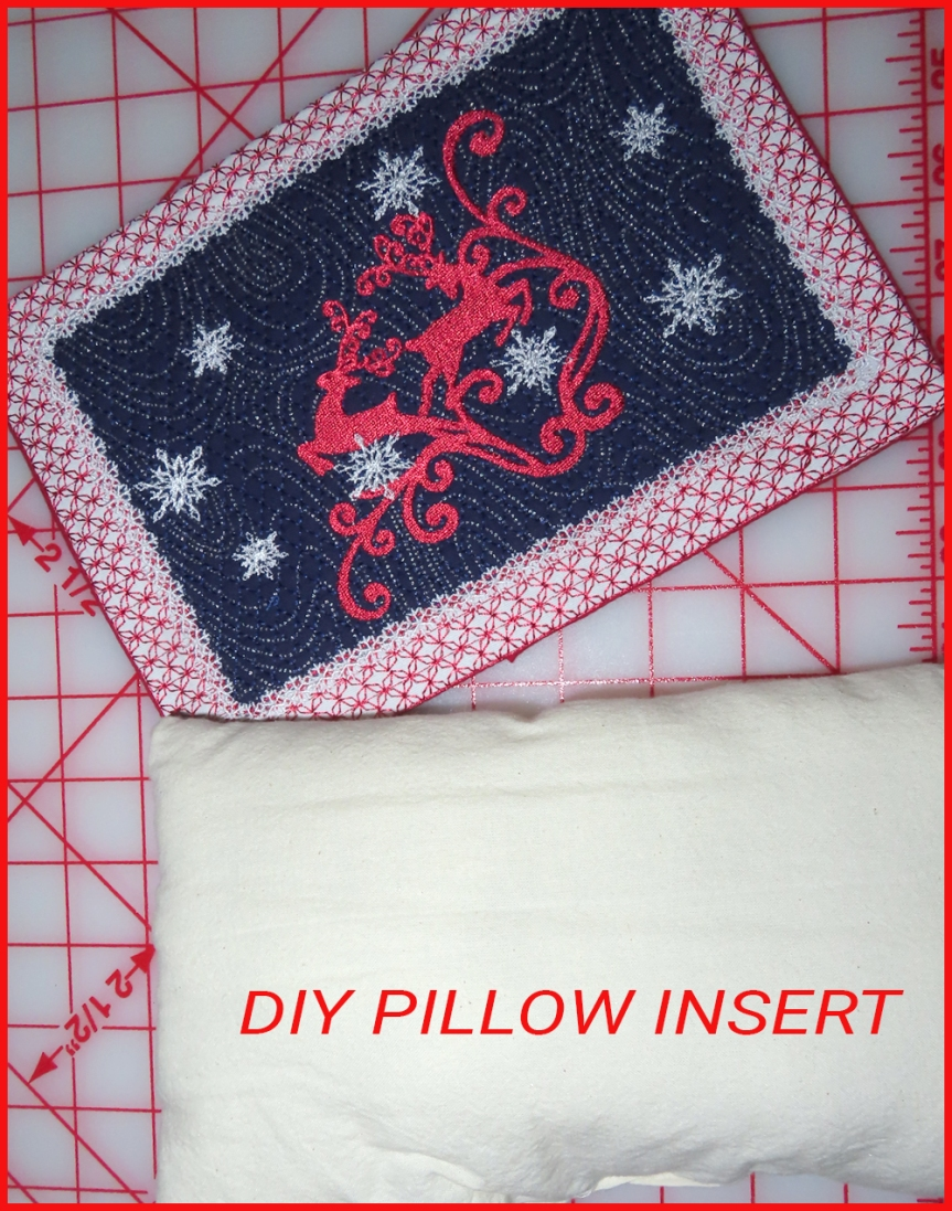 DIY  PILLOW FORMS